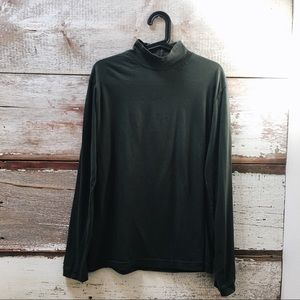 high-neck long sleeve // Urban Outfitters